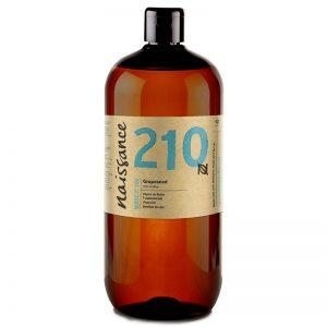 Aceite para dar masajes de semillas de uva