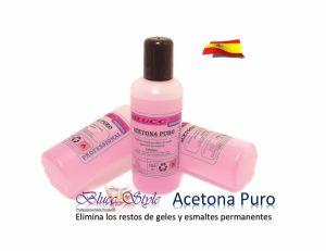 Acetona pura aromatizada