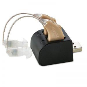 Audífono invisible con diseño único