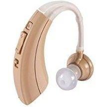 Audífono invisible discreto y ajustable