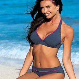 Bikini de braga alta sexy