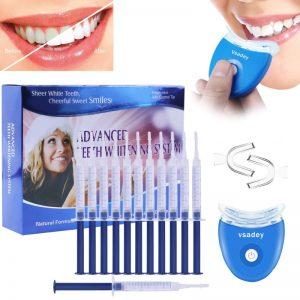 Blanqueador dental con luz LED