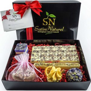 Bombones de jabón orgánicos pack de regalo