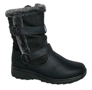 Botas de invierno para mujer de pierna alta