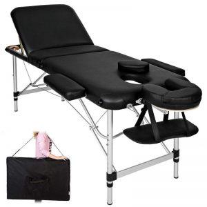 Camilla de masaje plegable de aluminio