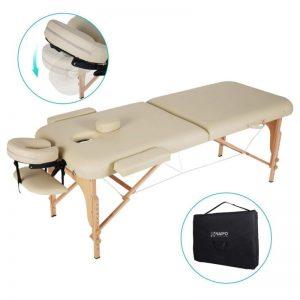 Camilla de masaje plegable estable