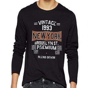 Camiseta de manga larga para hombre Blend