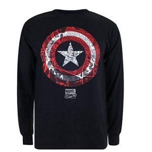 Camiseta de manga larga para hombre Marvel