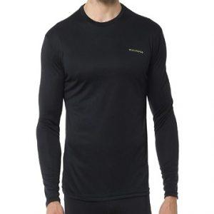 Camiseta de manga larga para hombre para gimnasio
