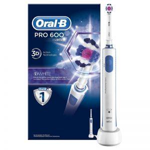 Cepillo de dientes eléctrico Oral-B Pro 600 3DWhite