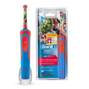 Cepillos de dientes eléctricos para niños animados