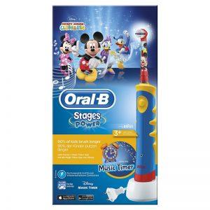 Cepillos de dientes eléctricos para niños de dos años