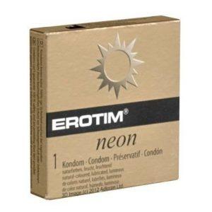 Condones fluorescentes Erotim