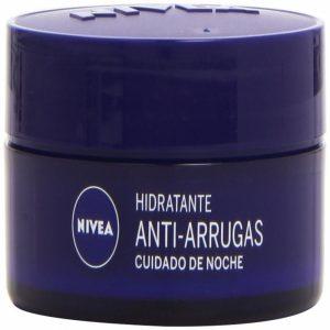 Crema antiarrugas Nivea cuidado de noche
