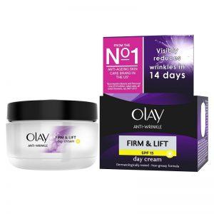 Crema antienvejecimiento Olay Firm & Lift