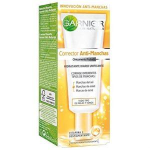 Crema antimanchas Garnier hidratante de uso diario