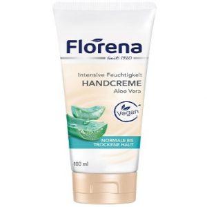 Crema de manos Florena con Aloe Vera