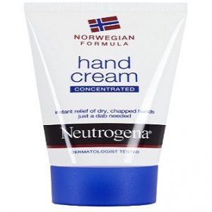 Crema de manos Neutrogena con fórmula Noruega