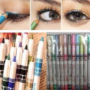 Delineador de ojos Glitter 12 piezas