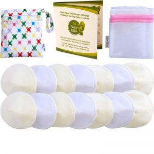 Discos de lactancia lavables cómodos