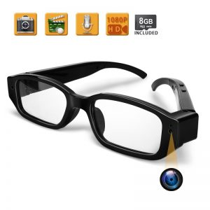 Gafas con cámara espía con función de audio