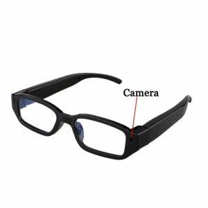 Gafas con cámara espía y diseño flexible
