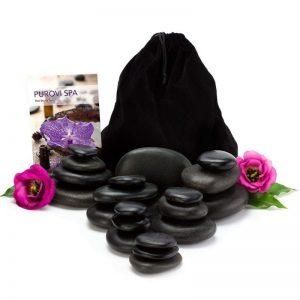 Kit de piedras calientes para masaje multifuncional