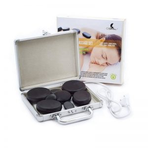 Kit de piedras calientes para masaje profesional