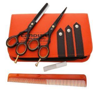 Kit tijeras de peluquería Candure
