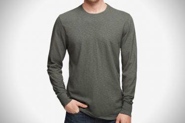camisetas de manga larga para hombre