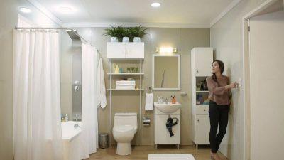 Tubos LED circular para baños