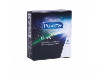 Condones fluorescentes