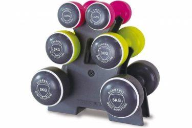 Kits de mancuernas para hacer fitness en casa