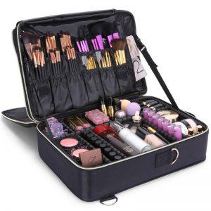 Maletín de maquillaje profesional organizador