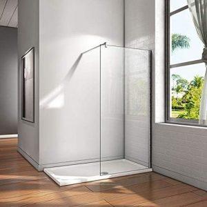 Mampara fija de ducha sencilla de limpiar
