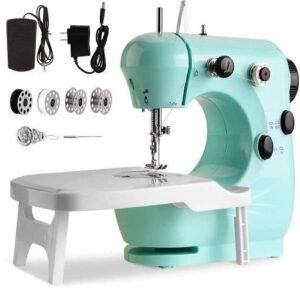 Máquina de coser portátil doble Dube