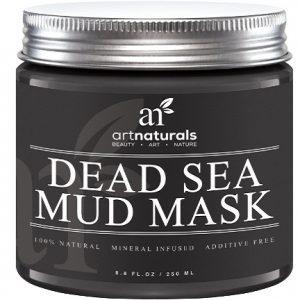 Mascarilla exfoliante Art Naturals de fango el mar