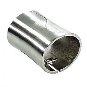 Original brazalete de plata y metal