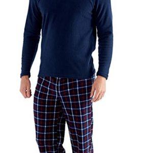Pijama para hombre con pantalón a cuadros