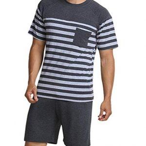 Pijama para hombre corto y moderno