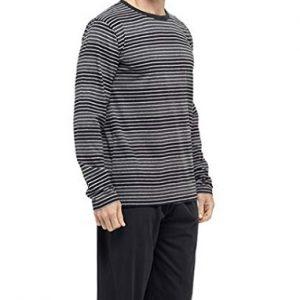 Pijama para hombre de manga larga