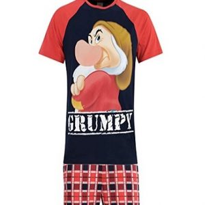 Pijama para hombre Disney Gruñón