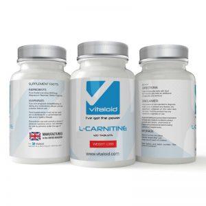 Quemador de grasa en pastilla de L-Carnitina