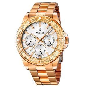 Reloj Festina de mujeres de oro