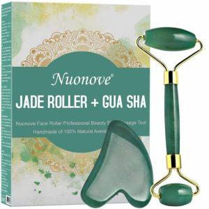 Rodillo facial de jade rejuvenecedor