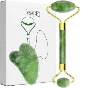 Rodillo facial de jade resistente