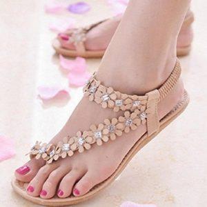 Sandalias planas de mujer Transer