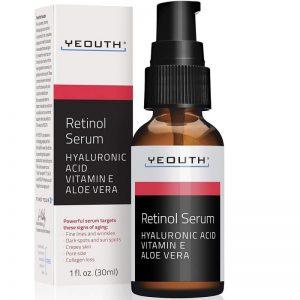 Serum facial con retinol