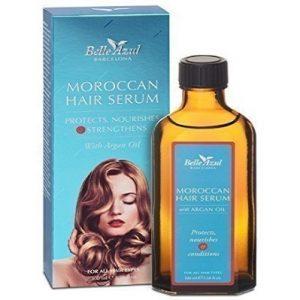 Aplicacion serum cabello