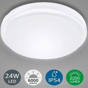 Tubo de LED circular para baño LE